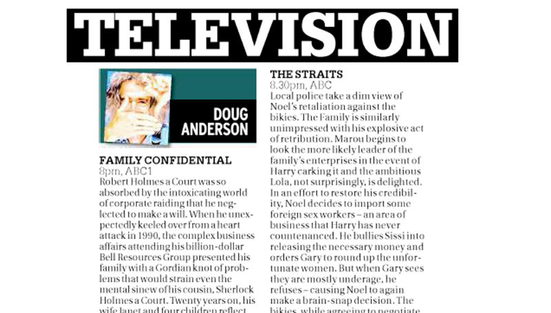 Family Confidential featured in Sydney Morning Herald